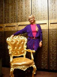 Ирина Салтыкова и ее кресло AMADEUS в нашем ШоуРуме
