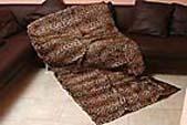 Меховые покрывала, пледы, подушки