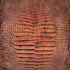 Кожаная плитка пола