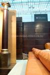 Кожаные стеновые панели