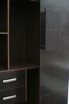 Шкафы с отделкой кожей